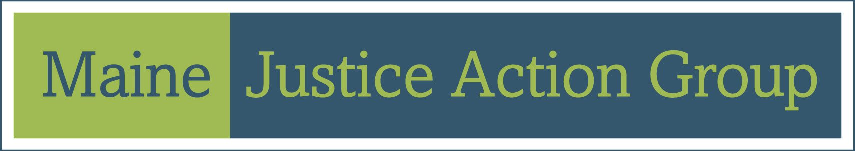 Maine Justice Action Group Logo